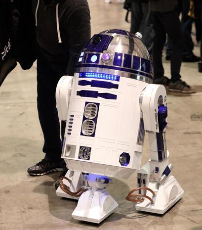 R2-D2 - Star Wars Celebration 2019 - Pictures - CBS News