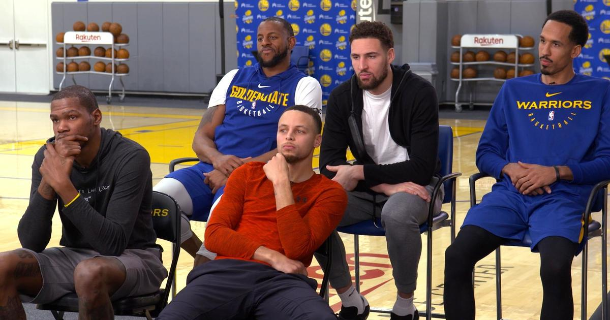 b5821481eb4 Golden State Warriors  The talent and mindset behind the NBA s reigning  dynasty - 60 Minutes - CBS News