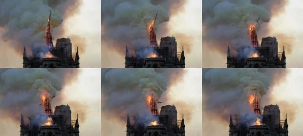 COMBO-FRANCE-FIRE-NOTRE-DAME