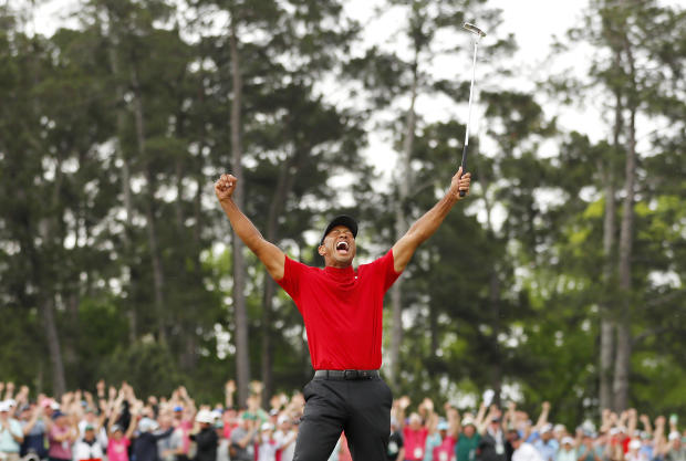 Tiger Woods — The Masters 2019