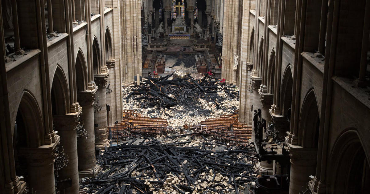 Photos of the Notre Dame fire