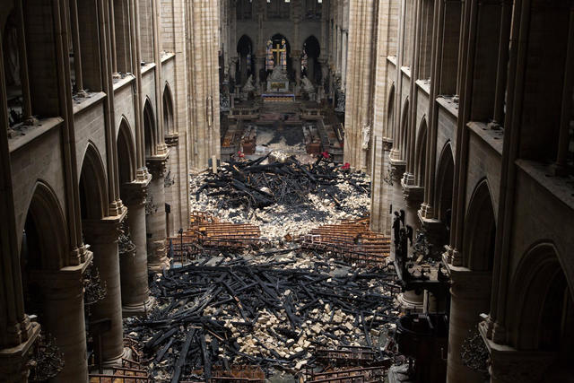 Notre Dame Cathedral Fire Cause Remains A Mystery As Workers Rush To Secure Notre Dame S Weakened Structure Today Live Updates