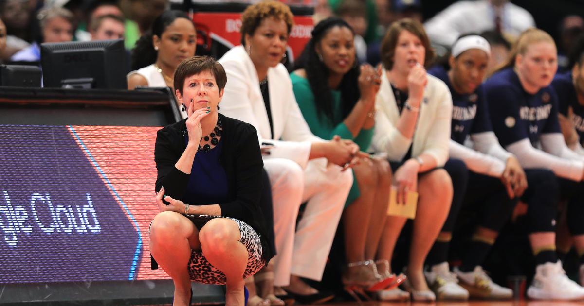 Notre Dame coach Muffet McGraw says gender equality