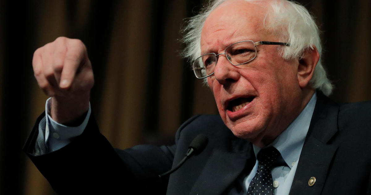 Bernie Sanders says war with Iran would be