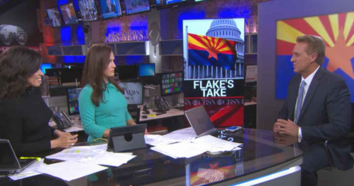 Jeff Flake on expectations for Mueller report