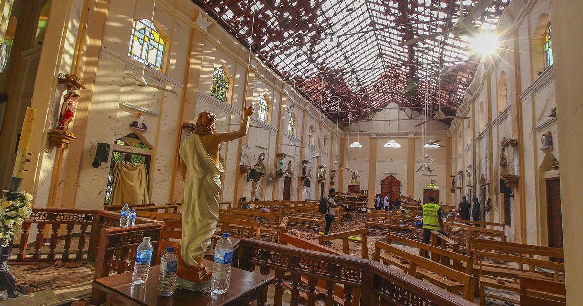 More than 200 killed in Easter Sunday bombings in Sri Lanka