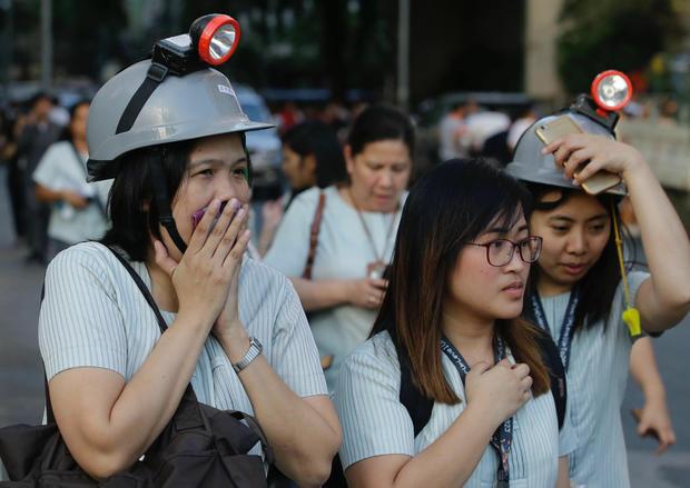 APTOPIX Philippines Earthquake