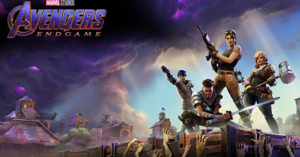 fortnite avengers endgame crossover event teased by epic games as the avengers are set to assemble on fortnite island cbs news - new fortnite avengers event