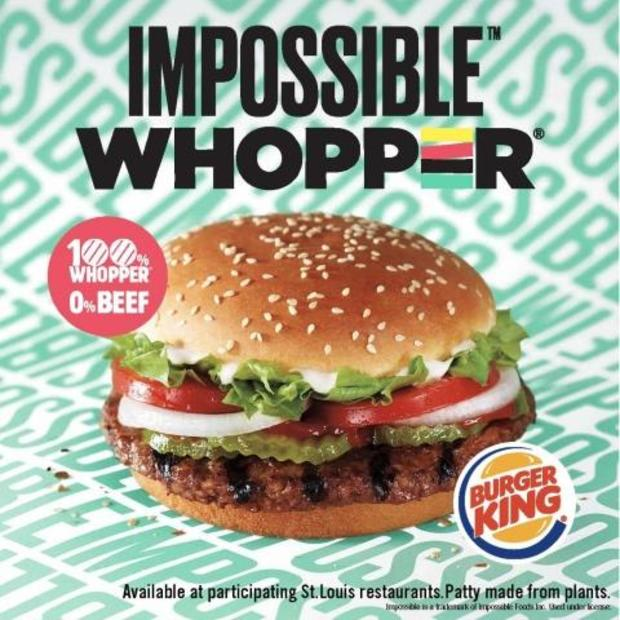 Impossible Whopper. (Credit Burger King ad)