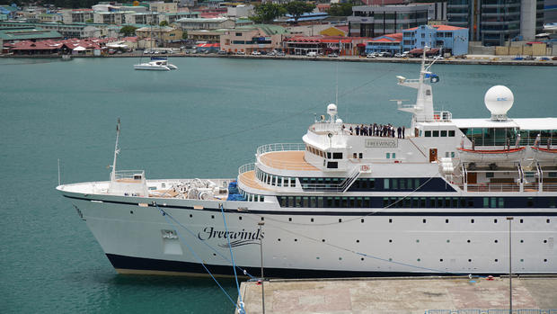 St Lucia US Quarantined Ship