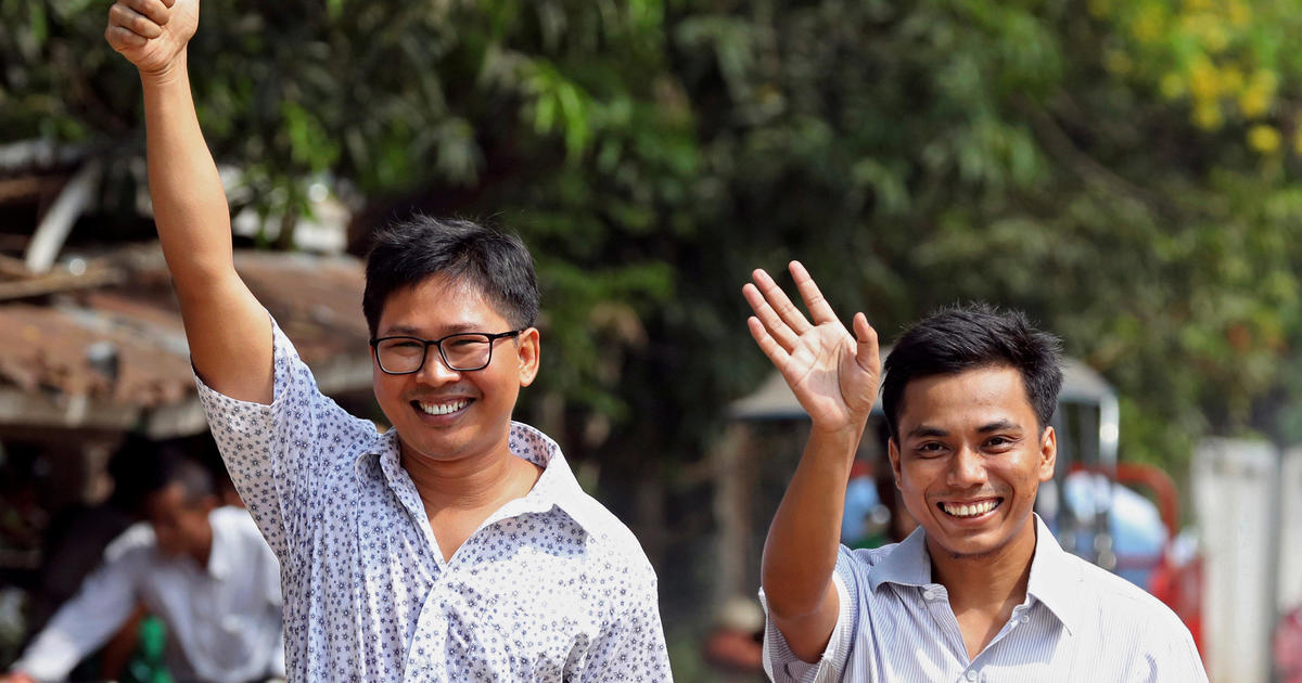 Reuters Reporters Wa Lone And Kyaw Soe Oo, Jailed For