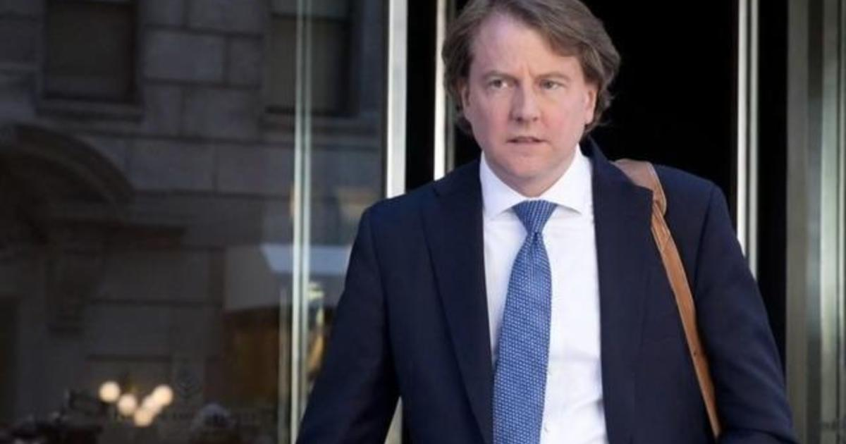 White House tells McGahn not to testify, backed by Justice Department opinion