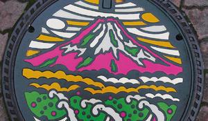 Street art: Japanese manhole covers