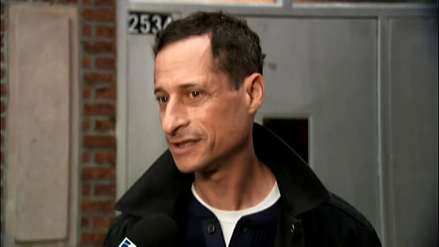 Disgraced former Congressman Anthony Weiner leaves NYC halfway house