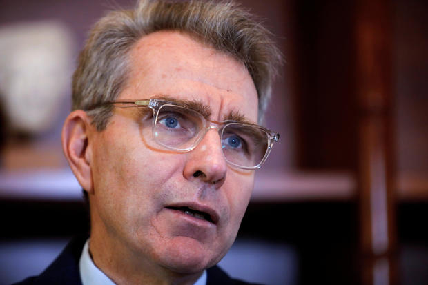 U.S. Ambassador to Greece Geoffrey R. Pyatt interview with Reuters