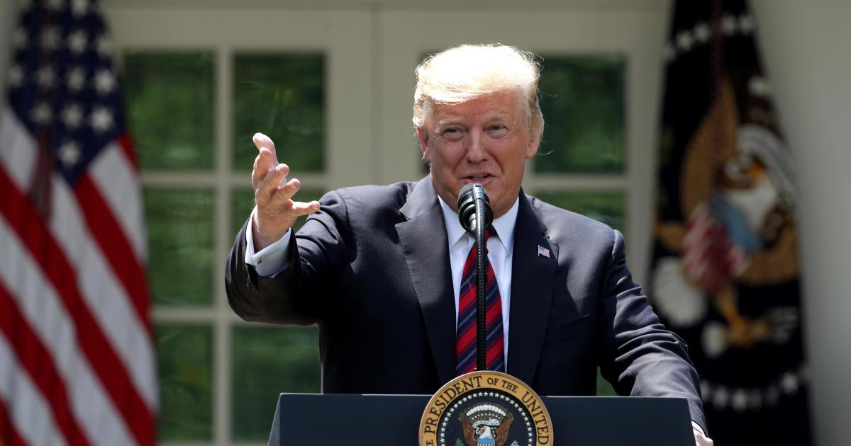 cbsnews.com - Trump speaks to reporters in the Rose Garden -- live stream