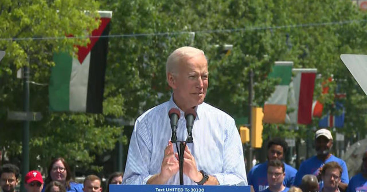photo image Joe Biden kicks off 2020 campaign with rally in Philadelphia