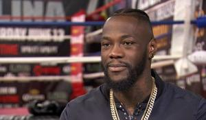 Deontay Wilder prides himself on his boxing reputation. But the title he seems to relish most is Dad.