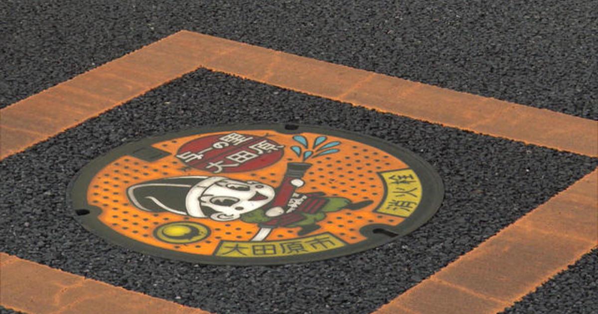 Artistic manhole covers