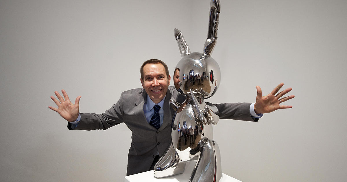 """Jeff Koons' """"Rabbit,"""" auctioned for $91 million, becomes most expensive work sold by living artist"""