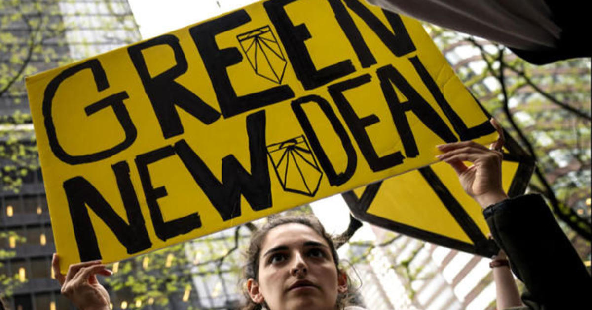 Lawmakers to hold Green New Deal rally Monday