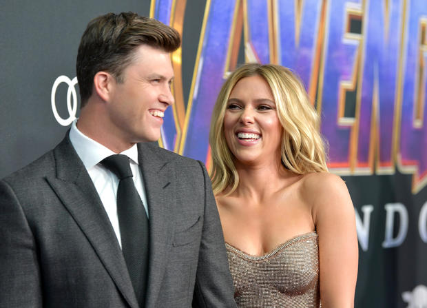 """Scarlett Johansson and Colin Jost of """"Saturday Night Live"""" are engaged"""