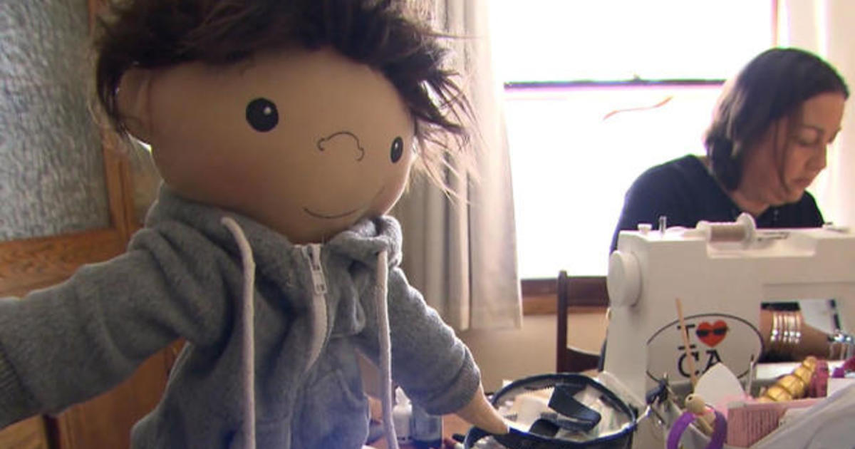 Woman mastered the craft of custom-made dolls