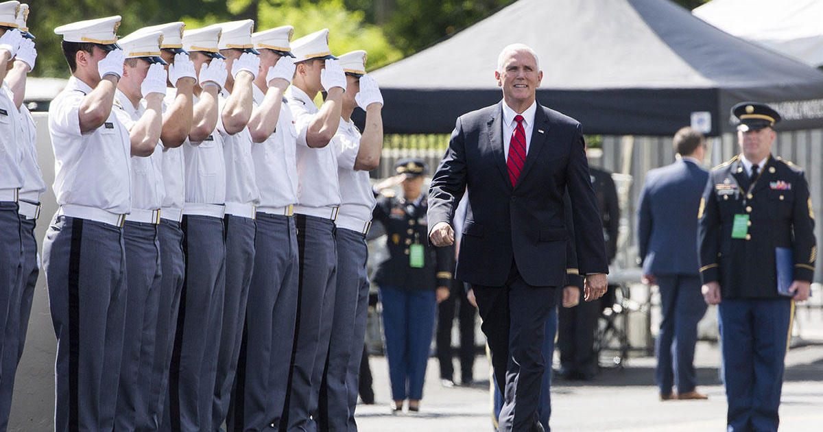West Point Academy: Mike Pence tells West Point grads they should