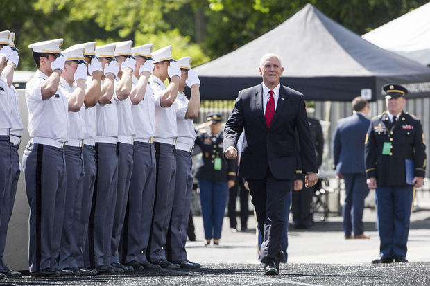 West Point Academy: Mike Pence tells West Point grads they should expect to see combat