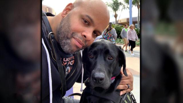Reynolds PTSD dog veteran
