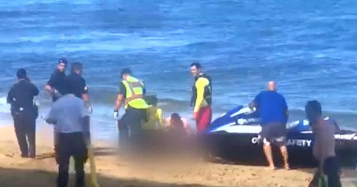 California man killed in Hawaii shark attack - CBS News