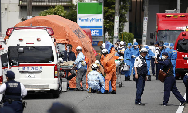 Japan mass stabbing — Kawasaki