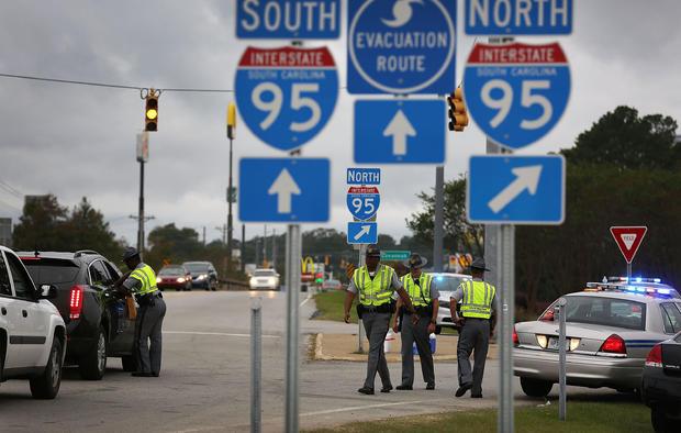 South Carolina Hit By Historic Rain And Flooding