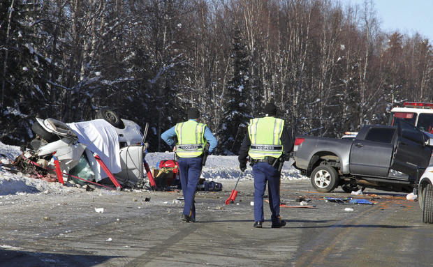 Parks Highway Fatal Crash