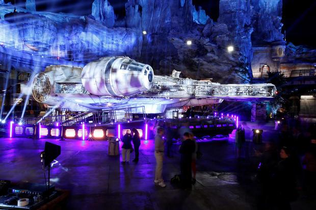 """Guests explore """"Star Wars: Galaxy's Edge"""" at Disneyland Park in Anaheim"""