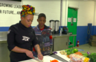 "Chef Cat Smith ""Just Call Me Chef"" Baltimore cooking class black female foodies"