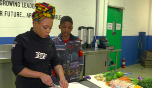 """Chef Cat Smith """"Just Call Me Chef"""" Baltimore cooking class black female foodies"""