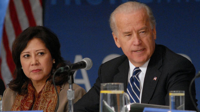 Biden Hosts Middle Class Task Force Meeting On Green Jobs