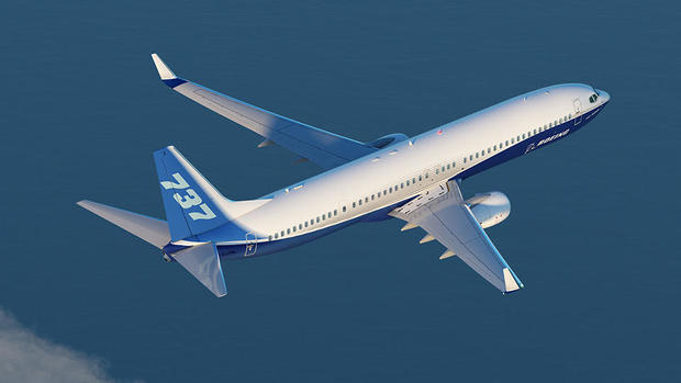 Boeing 737 Max and 737 Next Generation leading-edge slat