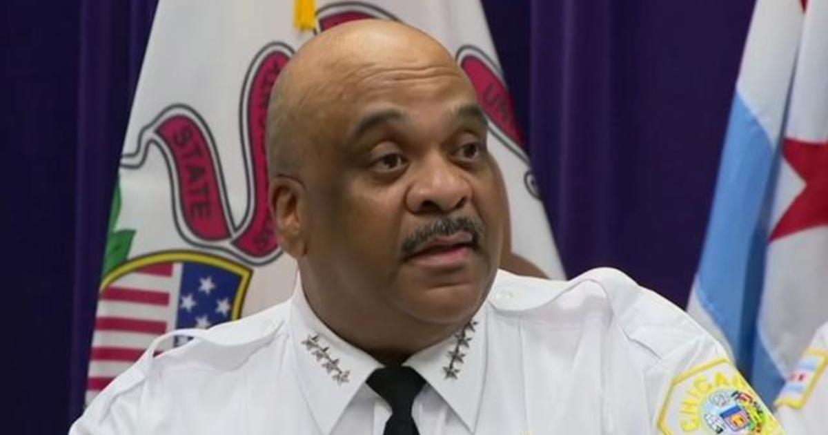 Chicago police superintendent speaks about weekend gun violence