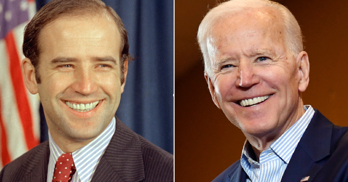 When A Young Joe Biden Used His Opponent S Age Against Him Cbs News