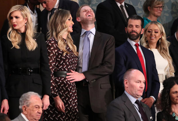 Relatives await start of U.S. President Trump's second State of the Union address to a joint session of the U.S. Congress in Washington