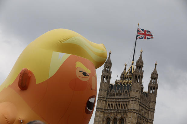 U.S. President Donald Trump visits Britain