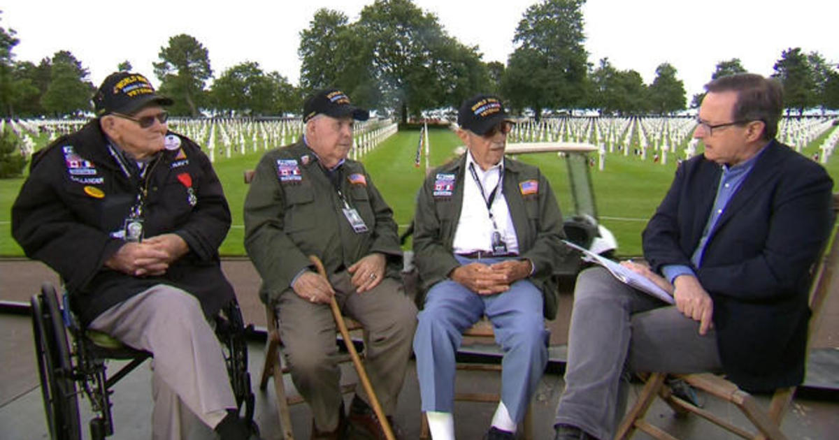 """D-Day anniversary: WWII veterans reflect on """"exciting, dreadful, scary"""" experiences"""