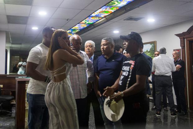 DOMINICAN REP-BASEBALL-SHOOTING-ORTIZ-LOPEZ