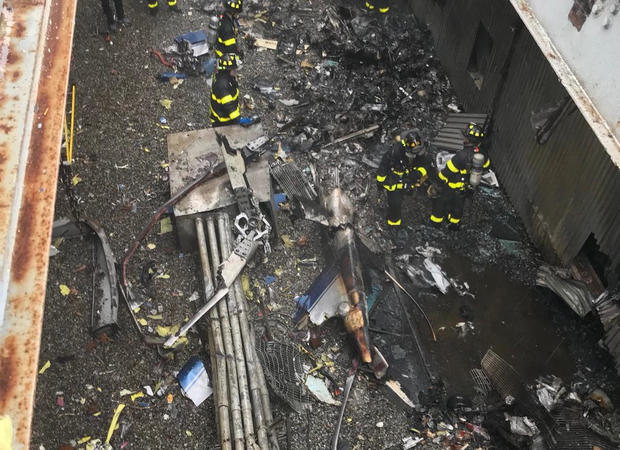 Helicopter crash NYC: Pilot in deadly helicopter crash in