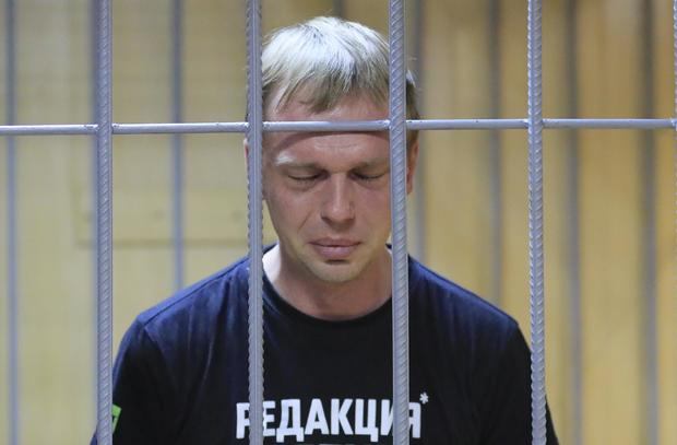 Russian police drop charges against investigative reporter Golunov after outcry