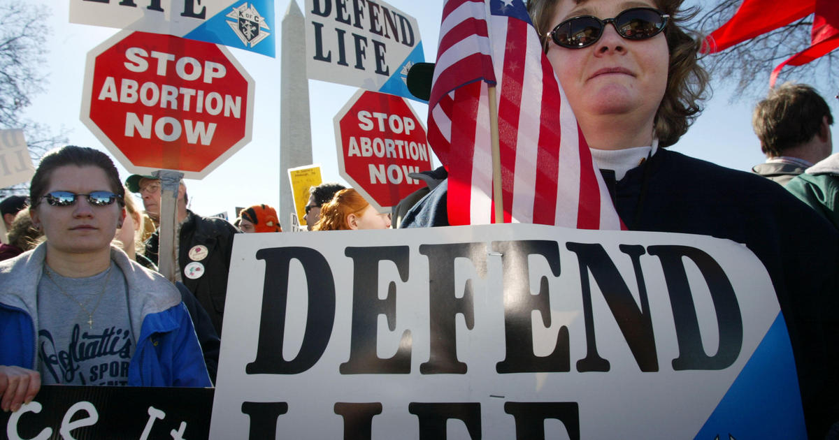 Anti-abortion rights groups get support from Trump