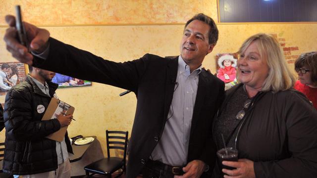 Democratic Presidential Candidate Steve Bullock Campaigns In Iowa