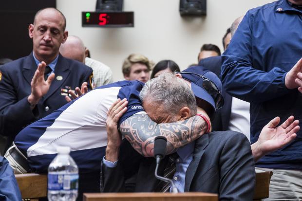 Jon Stewart — 9/11 victim compensation fund